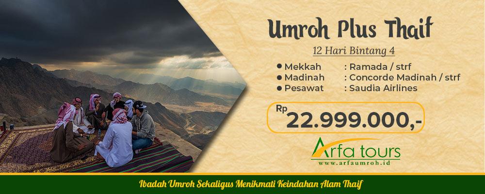 Paket Umroh Murah plus thoif