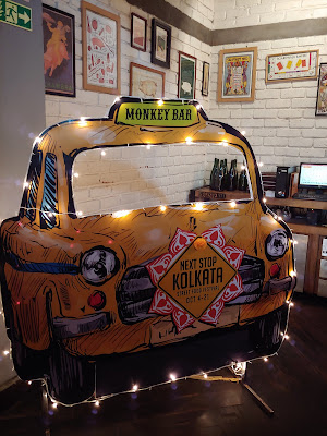 Monkey Bar Decor Yellow Taxi
