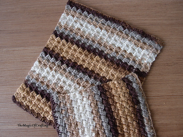 Free Crochet Patterns And Diy Crochet Charts Bamboo Dishcloths