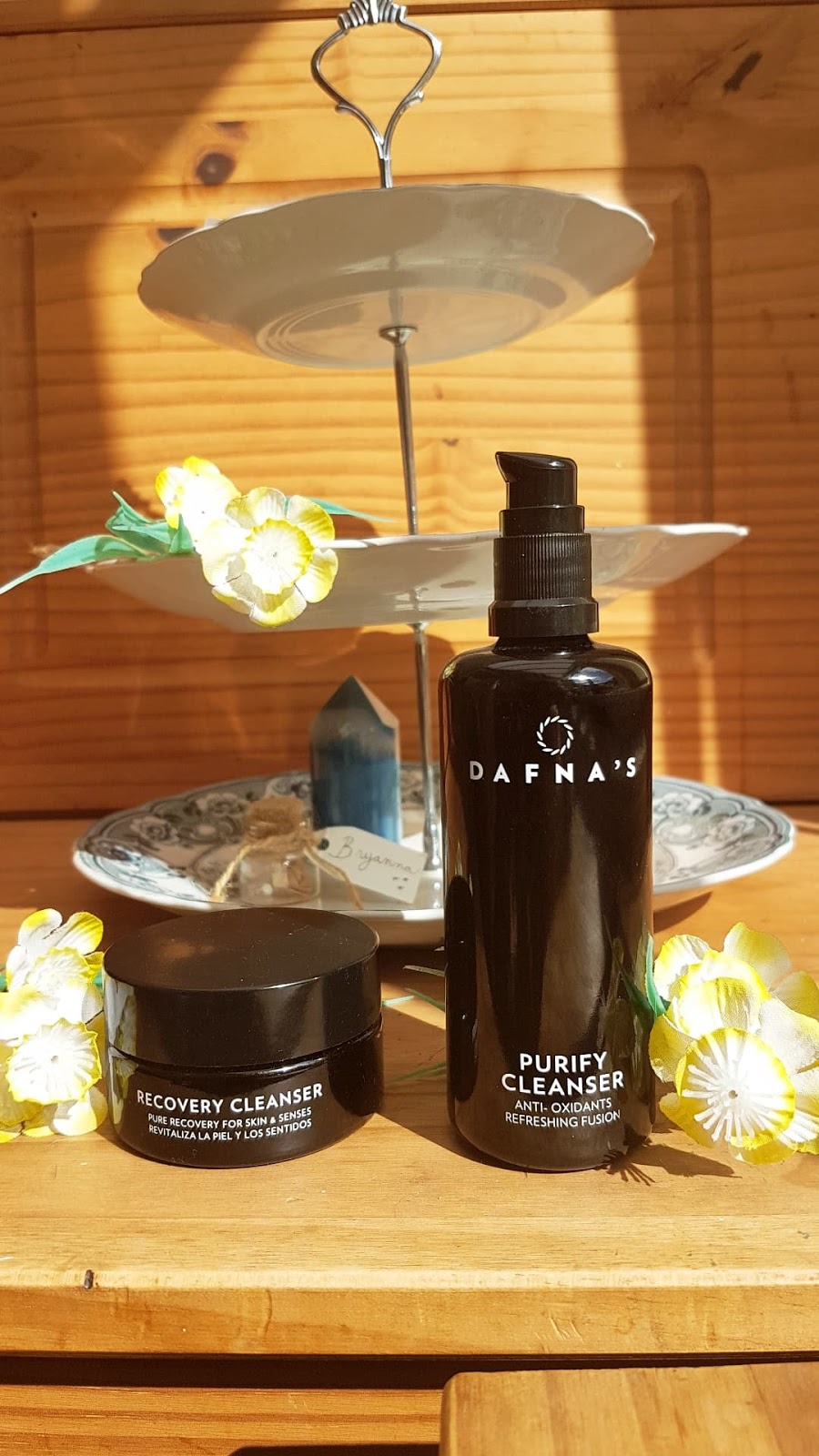 Dafna's skincare cleansers - Purify and Recovery review