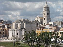 The beautiful 14th century Basilica di Santa Maria Maggiore in Barletta