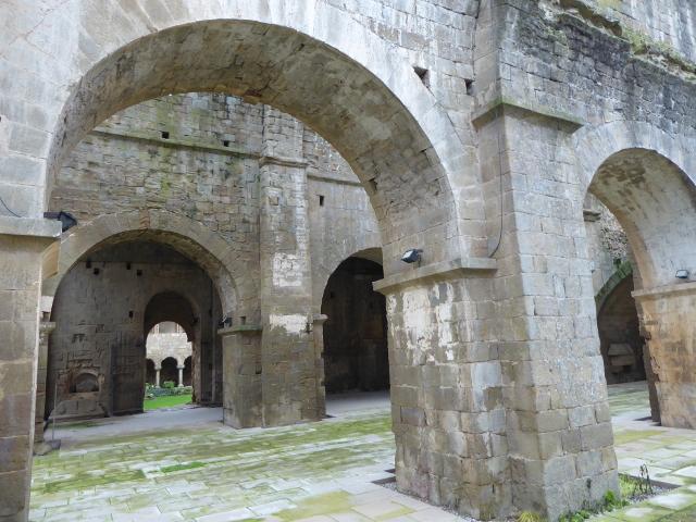 Detall de l'interior de l'església
