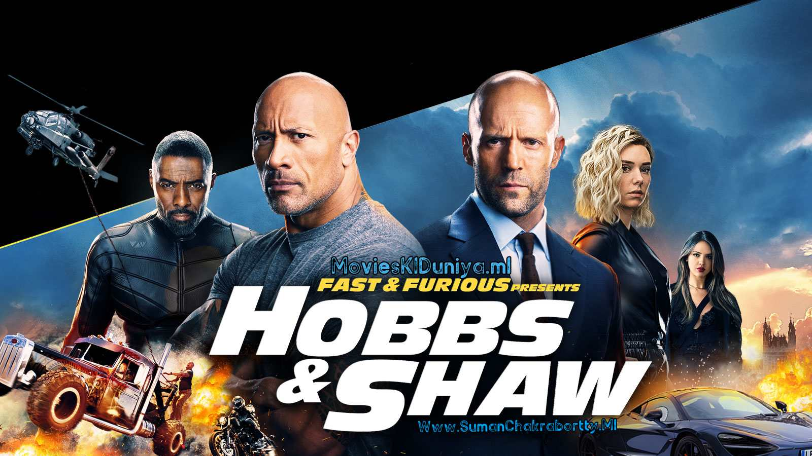 Fast & Furious Presents: Hobbs & Shaw Dual Audio Movie Download In 720p HD