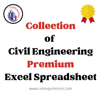 Collection Of Civil Engineering Design Spreadsheet | Civil Excel Sheet | Civil Engineering Excel Spreadsheet