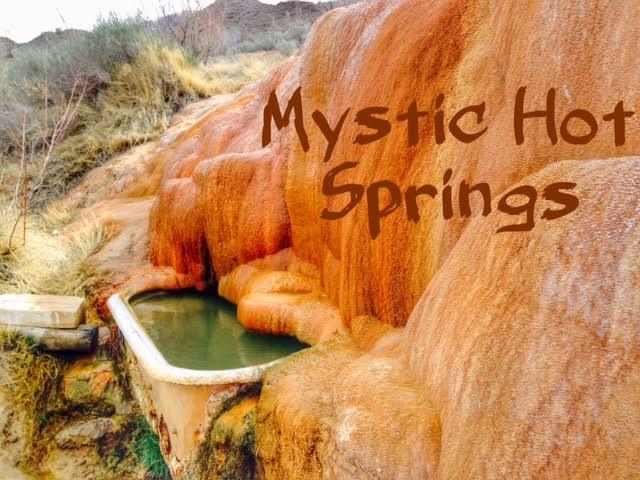 Soaking at Mystic Hot Springs