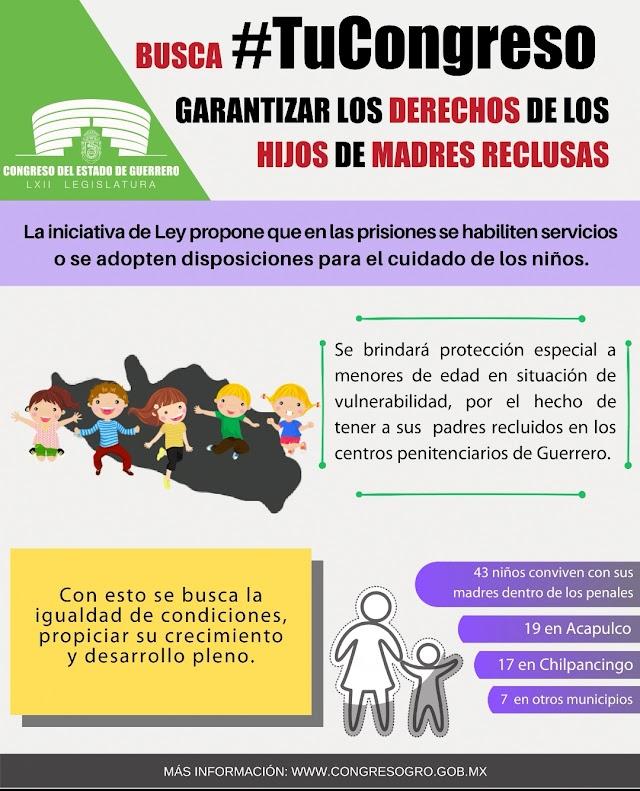 Congreso de Guerrero se preocupa por los niños