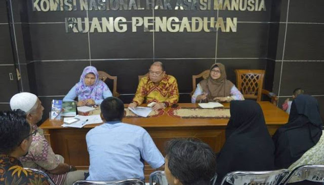 Kunjungi Komnas HAM, TPM Laporkan LP Pasir Putih yang Larang Narapidana Laksanakan Shalat
