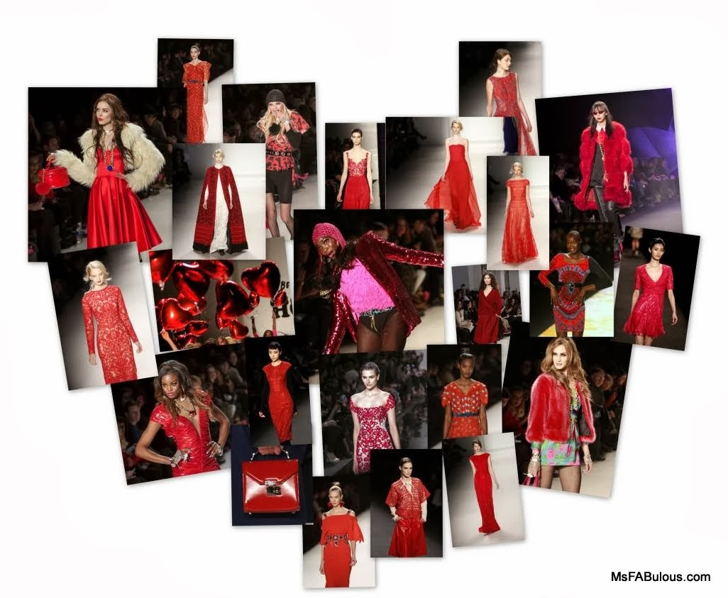 red ny fashion week