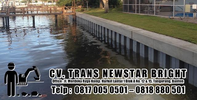 Kontraktor Turap Dinding Pantai : Apa itu Seawall dan Mengapa Begitu Penting?