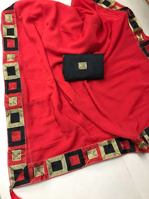MARBLE CHIFFON SAREE  WITH BANGLORE SILK BLOUSE | Price | Cost | Collection | designs, models, pics, images, with price , online shopping