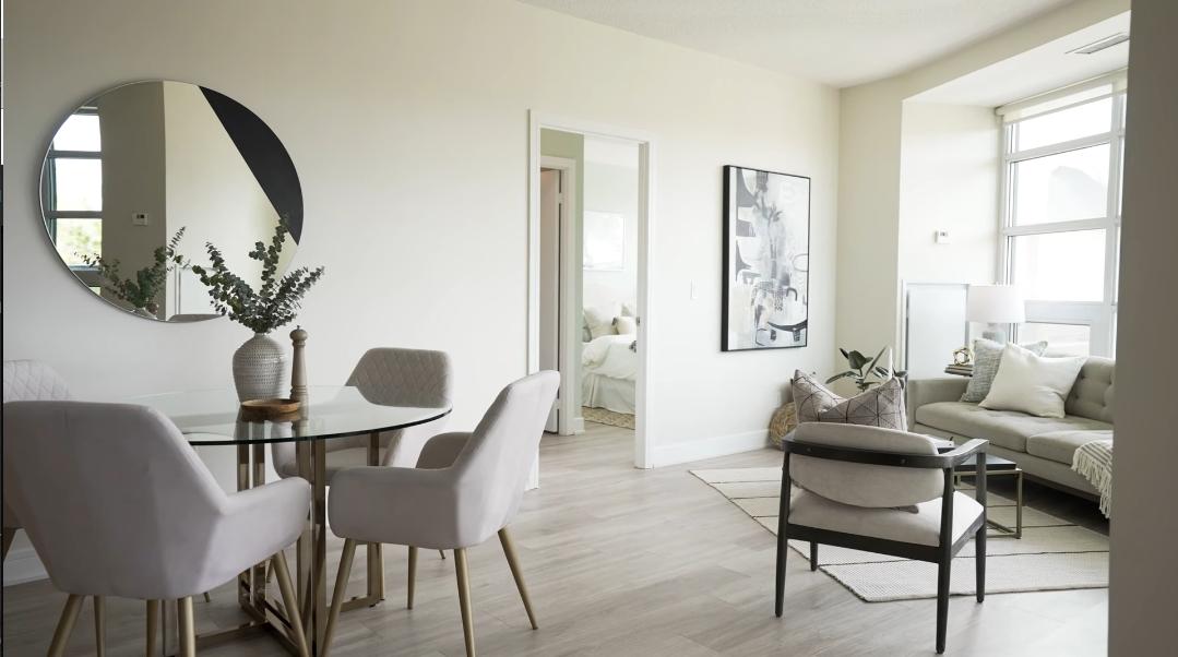 23 Interior Design Photos vs. 35 Brian Peck Cres #210, Toronto, ON Condo Tour