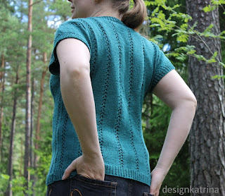 Hemp+Modal+Cotton sweater knitted by DesignKatrina.se
