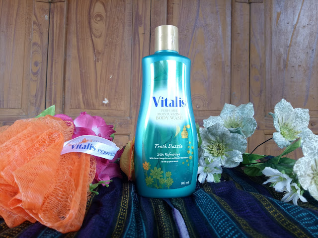 Vitalis Perfumed Moisturizing Body Wash Fresh Dazzle