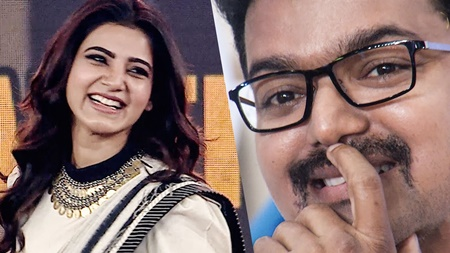 Priceless: Vijay Laughs at Samantha Marriage Meme | Audience Laughs Louder!