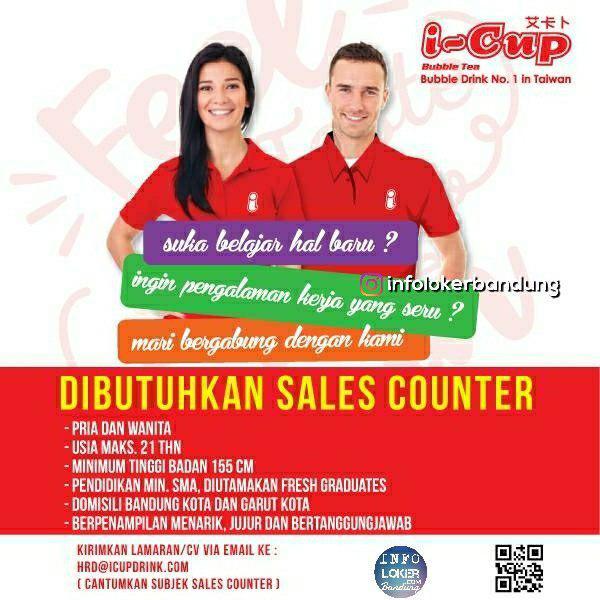Lowongan Kerja I-Cup Bubble Drink Bandung Oktober 2018