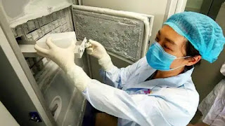 Wuhan Labs fridge in which thousands of viruses, including corona, were found, its seal get broken, pictures viral