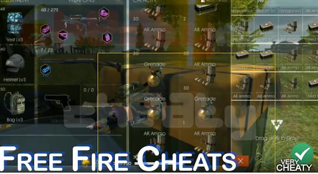 Download Cheats/Curang Terbaik untuk Free Fire Garena 6