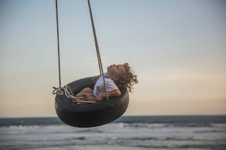 Picture of kid on swing