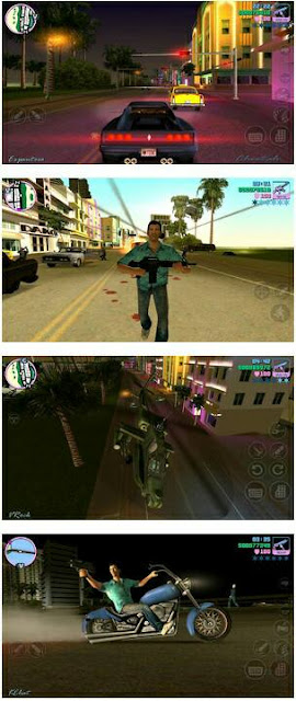GamePlay GTA Vice City Apk Data