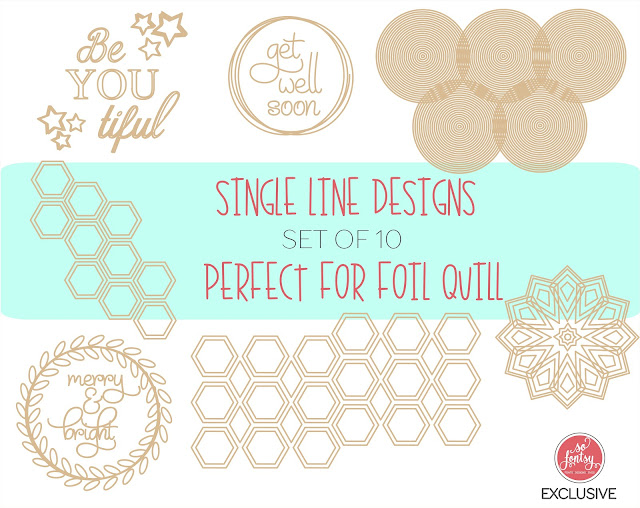 foil quil, foil quill silhouette, foil quill designs, foil quill tutorials, silhouette 101