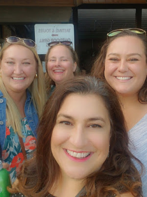 girls trip, ohio winery, cleveland bloggers, wine lovers, Debonne