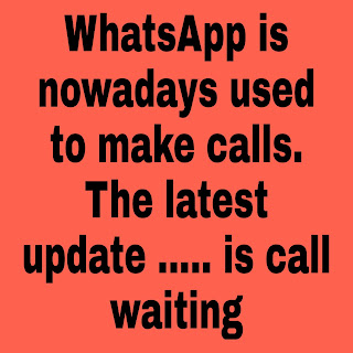 WhatsApp is nowadays used to make calls. The latest update ..... is call waiting