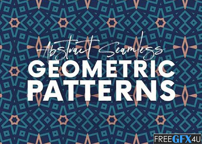12 Abstract Seamless Geometric Patterns