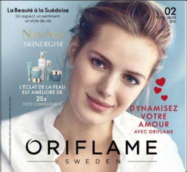 catalogue oriflame maroc février 2021 offre saint-valentin