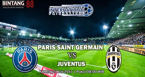 PREDIKSI SKOR  Paris Saint Germain vs Juventus  27 JULI 2017