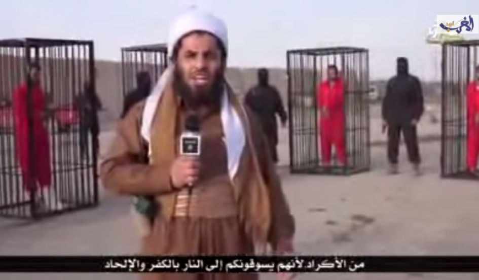 ISIS Releases Video Purportedly Showing Caged Kurdish Fighters