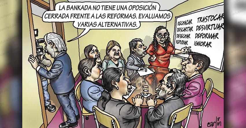 Carlincaturas Sábado 1 Junio 2019 - La República