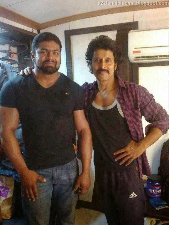 Vikram ai stills vikram ai images vikram ai wallpapers tamil movie vikram in gym workout for ai movie thecheapjerseys Gallery