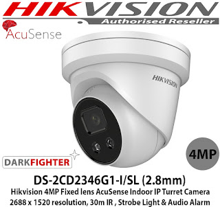 IP Camera HIKVISION DS-2CD2346G1-I
