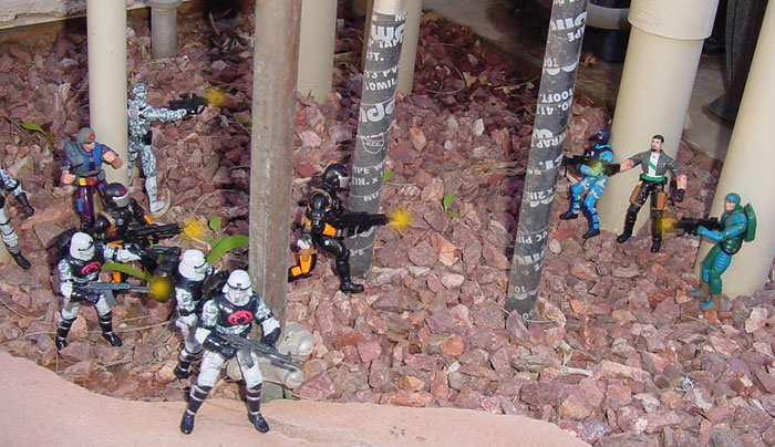 2004 Wal Mart Exclusive Neo Viper, Claws, Iron Grenadier, 2003, Tele Viper, Widescope, Spy Troops, Gung Ho, Cobra Coils
