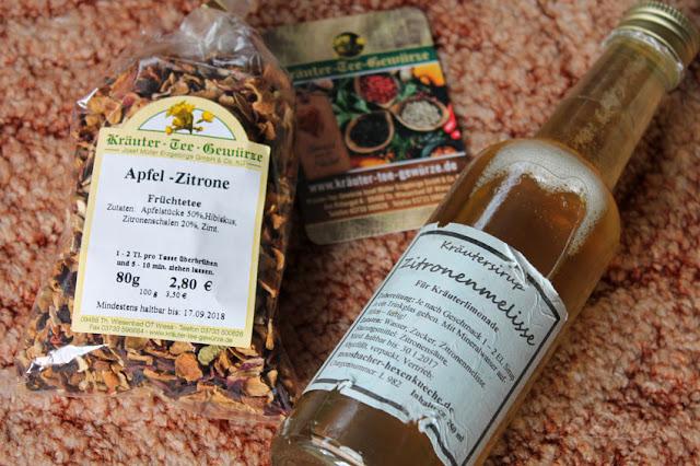 Haul Mittelaltermarkt mit Tee und Sirup