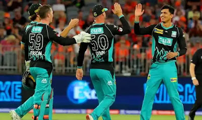 BBL 2019-20 HEA vs STR 36th T20I Match
