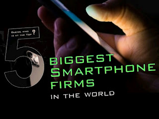 The world's top five smartphone companies in world