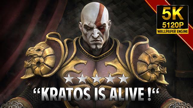 God Of War Kratos Wallpaper Engine
