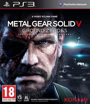 Metal Gear Solid V Ground Zeroes PS3 Español Region USA