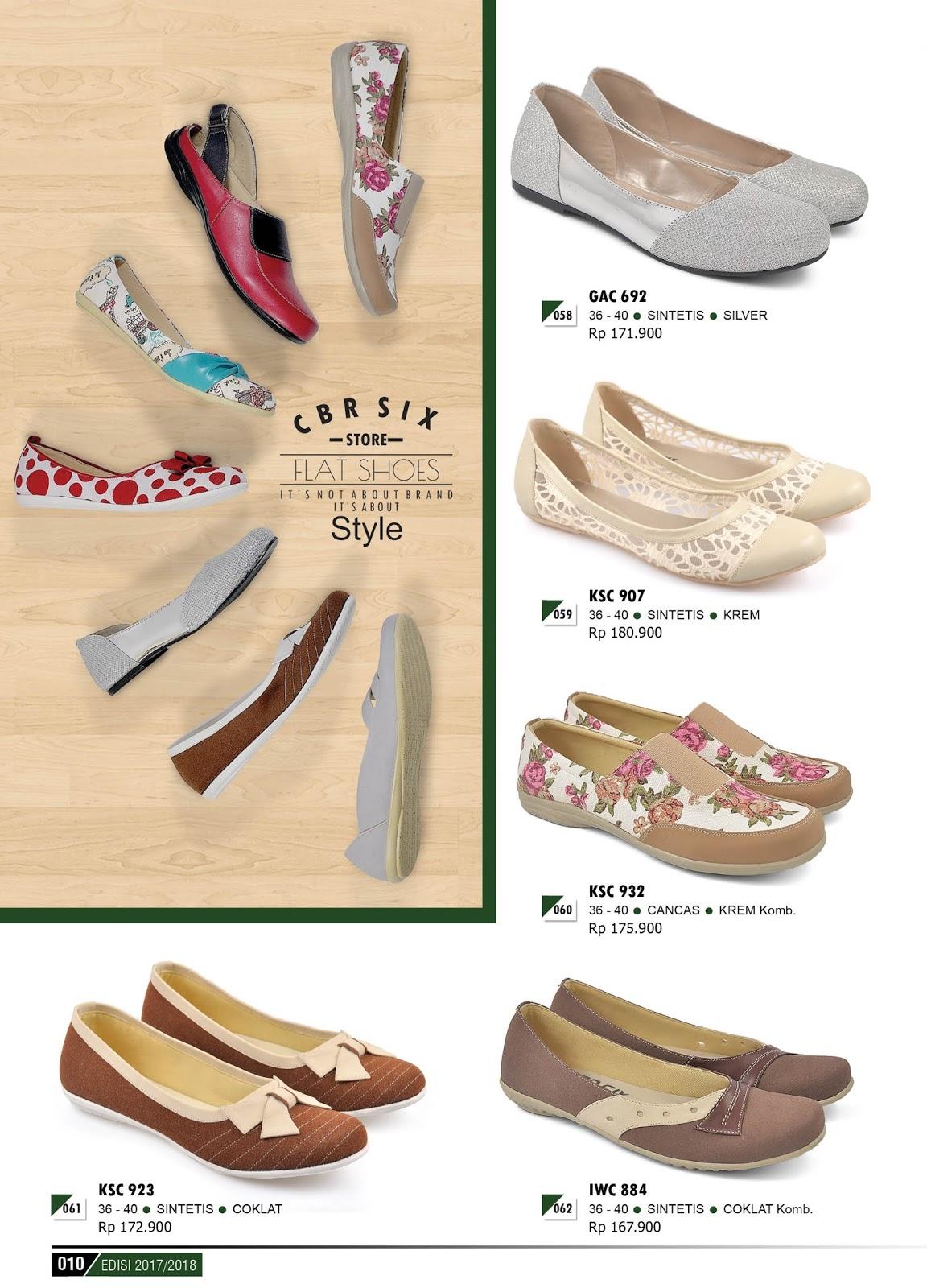 31 Model Terbaru Sepatu Sandal Wanita Elizabeth