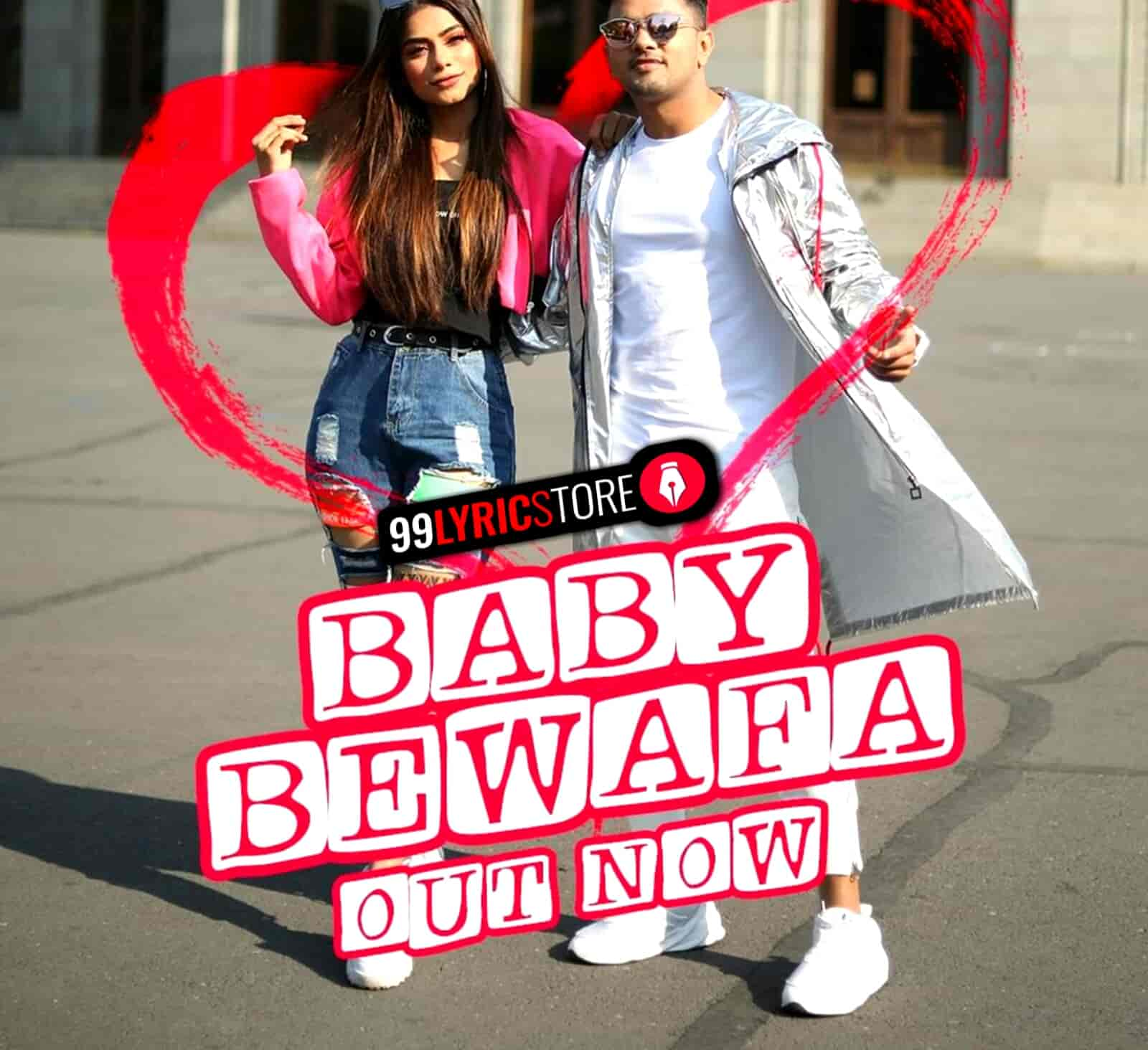 Baby Bewafa Lyrics Images Awez Darbar and Nagma Mirajkar