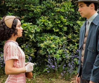 Inês e Carlos em cena da novela das 18h, Éramos Seis (Foto: Divulgação)