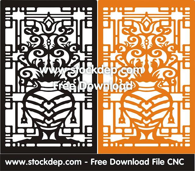 Vector Khung viền CNC