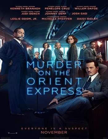 Murder on the Orient Express 2017 Full English Movie BRRip Download