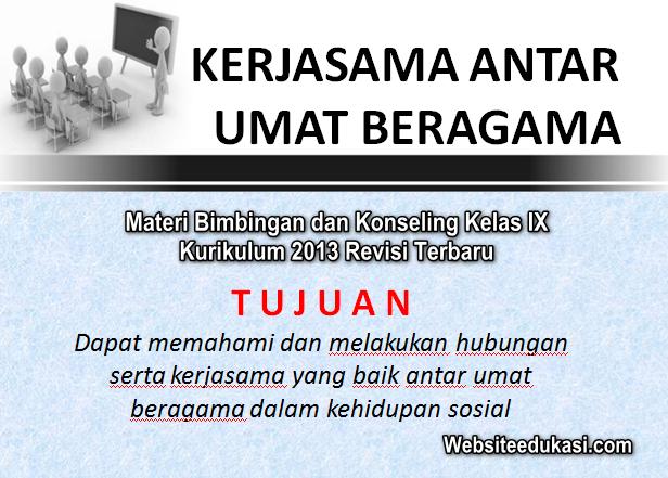 Materi Bk Kelas 9 Kurikulum 2013 Revisi 2019 2020 Websiteedukasi Com