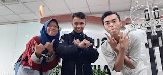 Kiri ke kanan: Liyan, Kholil, dan Edi