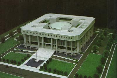Gedung Mahkamah Agung RI desain awal