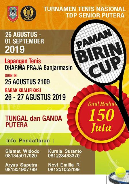 Paman Birin Cup: Hasil Lengkap Kamis (29 Agustus 2019)