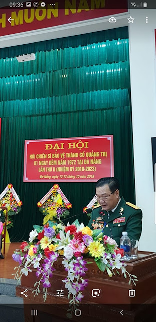 ĐÀ NẴNG: Thiếu Tướng giả - Phạm Văn Hải, Chủ tịch Hội Chiến sĩ bảo vệ Thành cổ Quảng Trị ở Đà Nẵng là ai ?