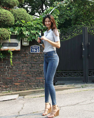 Lee Hee Eun wanita cantik mirip nami dari Korea Selatan